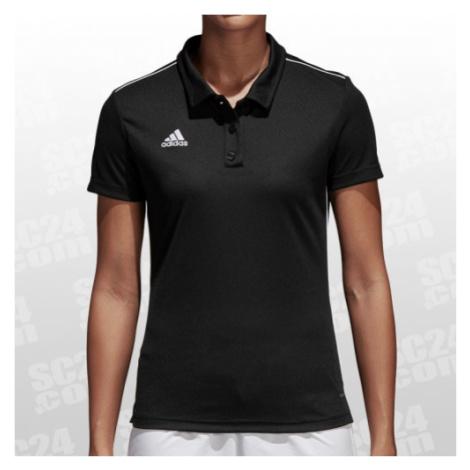 Adidas Core 18 Polo Women schwarz Größe L
