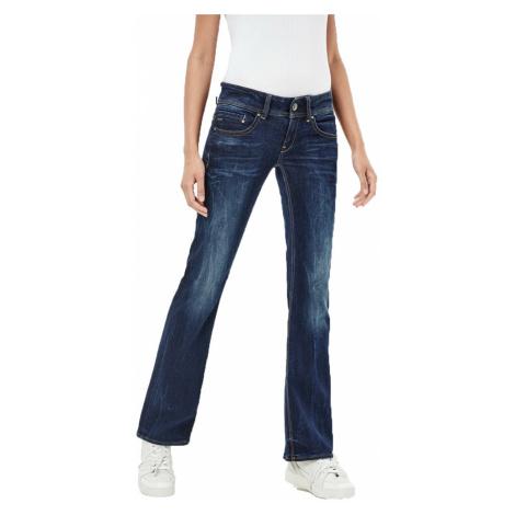 G-Star Damen Jeans Midge Saddle Bootleg - Blau - Dark Aged G-Star Raw