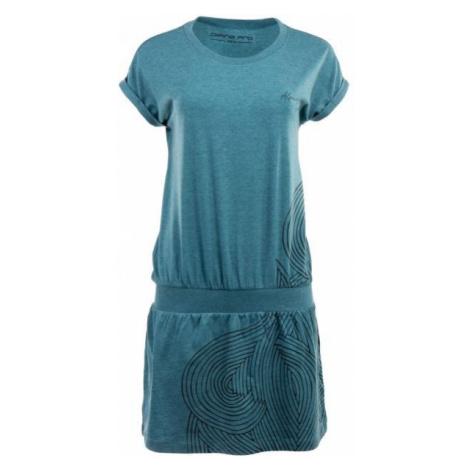ALPINE PRO ARTURA 2 grün - Kleid