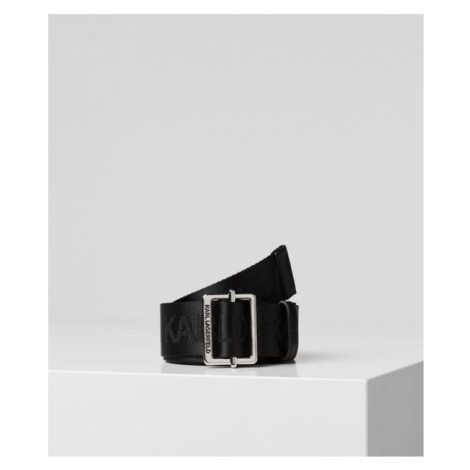 K/KARL LOGO WEBGÜRTEL Karl Lagerfeld
