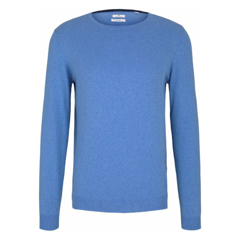 TOM TAILOR Herren Basic Pullover, blau