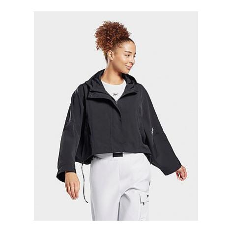 Reebok layering woven jacket - Black - Damen, Black