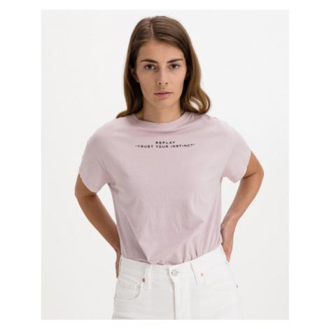 Replay T-Shirt Rosa