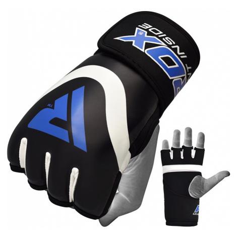RDX X7 Boxing Gel Innenhandschuhe Blau