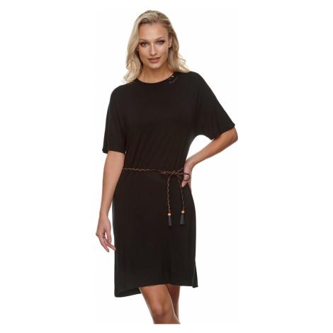 Ragwear Damen Kleid KASS 2111-20020 Black 1010 Schwarz