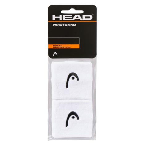Head WRISTBAND 2,5 weiß - Schweißband
