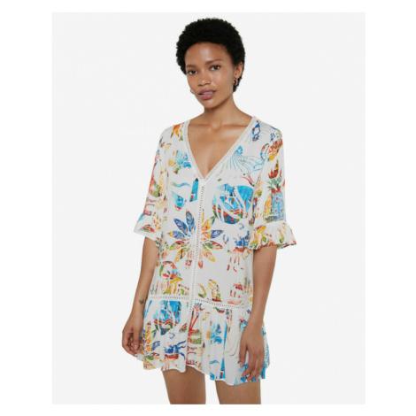 Desigual Lombok Kleid Weiß