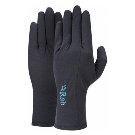 Handschuhe Rab Merino+ 160 Handschuh Women's ebony
