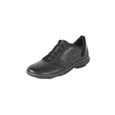 Leder-Sneaker schwarz Gr.42 Geox