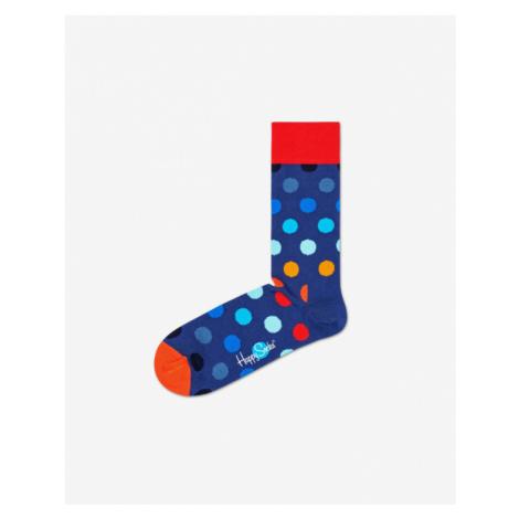 Happy Socks Big Dot Socken Blau