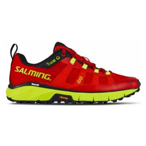 Schuhe Salming Trail 5 Women Poppy Rot / Sicherheit Yellow