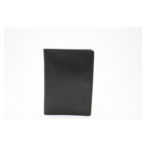 M.Collection Ausweisetui Milia Alwan V7 Unisex Leder schwarz Maitre