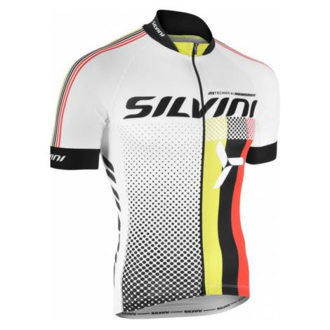 Herren Radsport Dress Silvini TEAM MD836 white