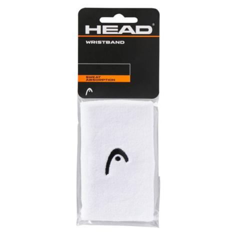 Head WRISTBAND 5 weiß - Schweißband