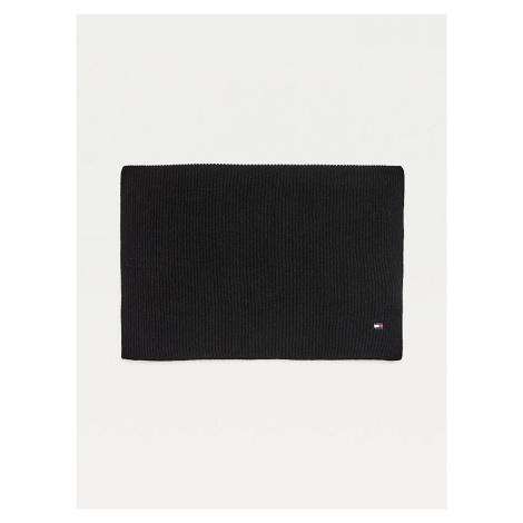 Tommy Hilfiger Schal Essential Knit Scarf Stick schwarz