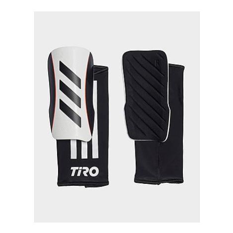 Adidas Tiro League Schienbeinschoner - White / Black / Black / Solar Red - Herren, White / Black