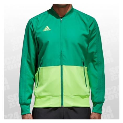Adidas Condivo 18 Präsentationsjacke grün/grün Größe L