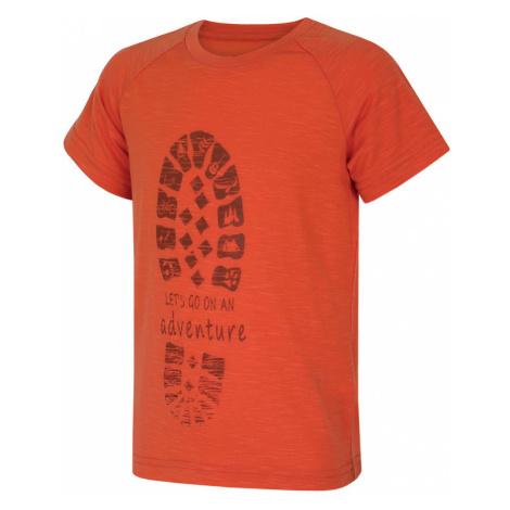 Kinder T-Shirt Husky Zingl Kids Ziegelfarbe
