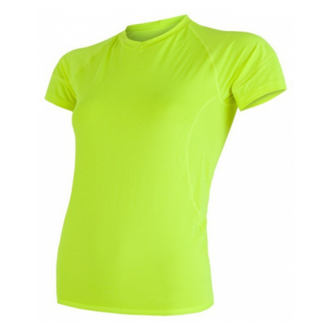 Damen T-Shirt Sensor Coolmax Fresh yellow reflex 17100027