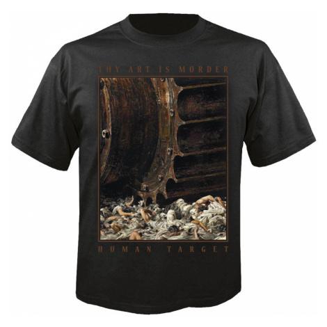 Metal T-Shirt Männer Thy Art Is Murder - Human target - NUCLEAR BLAST - 27957_TS XXL