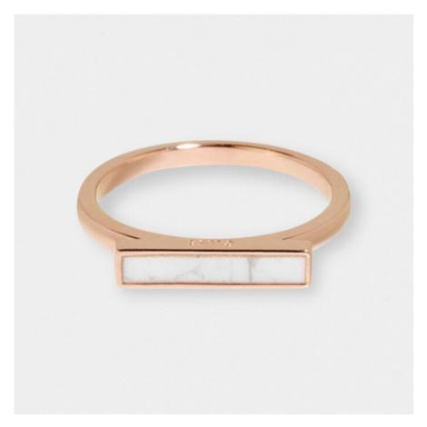 Cluse Ring Idylle Roségold Marmor Barren