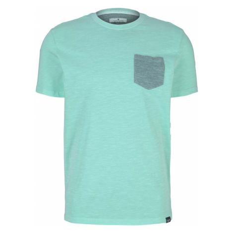 TOM TAILOR Herren T-Shirt, grün