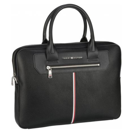 Tommy Hilfiger Aktentasche TH Downtown Super Slim Comp Bag SP21 Black (8.1 Liter)