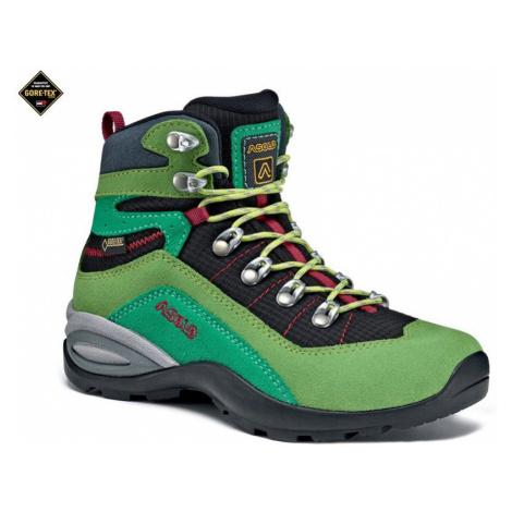 Kinder Schuhe Asolo vollstrecken GV JR lime/black/A168