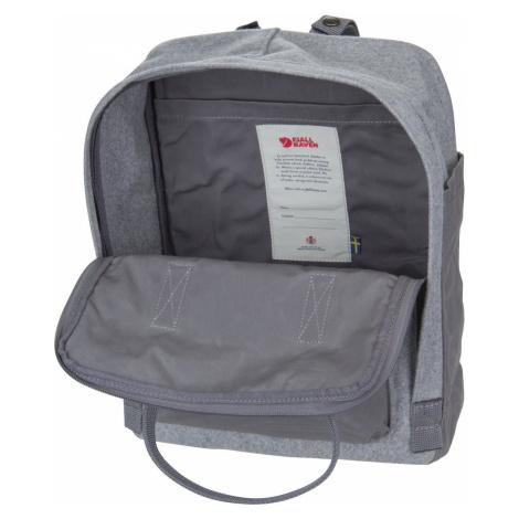 Fjällräven Rucksack / Daypack Kanken Re-Wool Granite Grey (16 Liter)