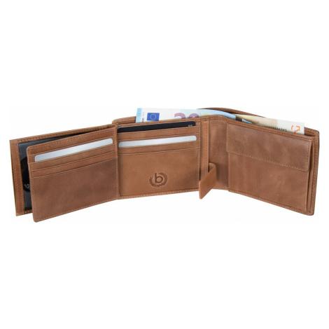 Bugatti Geldbörse Volo Coin Wallet 12 Kartenfächer Cognac (0.3 Liter)