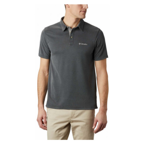 Columbia NELSON POINT POLO schwarz - Herren Poloshirt