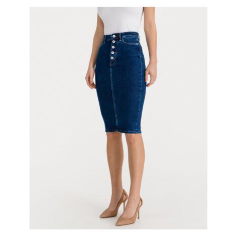 Guess 80s Longuette Skirt Blau