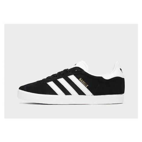 Adidas Originals Gazelle II Kinder - Core Black / Footwear White / Gold Metallic - Kinder, Core