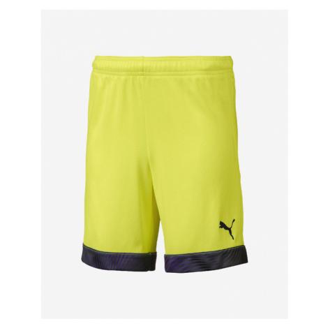 Puma Cup Kinder Shorts Gelb