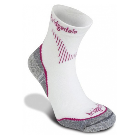 Socken Bridgedale CoolFusion Run QW-ik Women's ML dunkel pink/303
