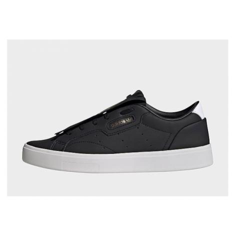 Adidas Originals Sleek Sneaker - Core Black / Cloud White / Crystal White - Damen, Core Black /