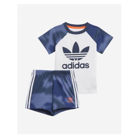 adidas Originals Camo Print Set Kinder Blau Weiß