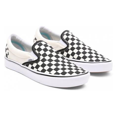 VANS Comfycush Slip-on Schuhe ((classic) Checkerboard) Damen Weiß