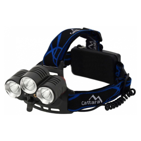 Stirnlampe Compass LED 400lm (1x XM-L+2x XP-E)