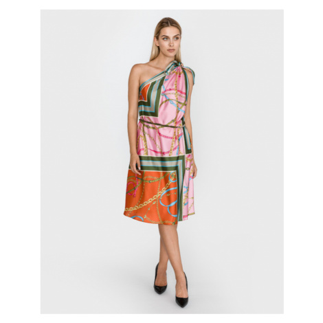 Pinko Agnes Kleid Rosa mehrfarben