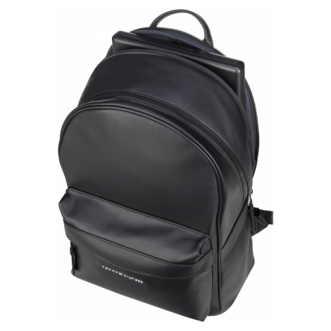 Tommy Hilfiger Rucksack / Daypack Elevated PU Backpack FA20 Black (22.3 Liter)