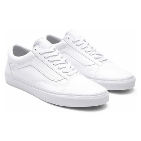 VANS Classic Tumble Old Skool Schuhe ((classic Tumble) True White) Damen Weiß
