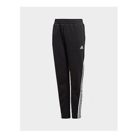 Adidas 3-Streifen Doubleknit Tapered Leg Hose - Black / White, Black / White