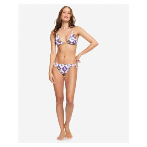 Roxy Tie-Side Bikini bottom Weiß Lila