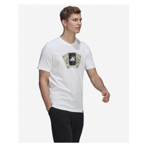 adidas Performance Tarot Badge Of Sport T-Shirt Weiß