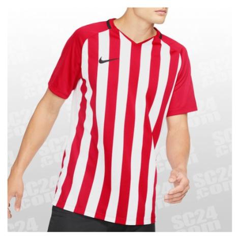 Nike Striped Division III SS Jersey weiss/rot Größe XL