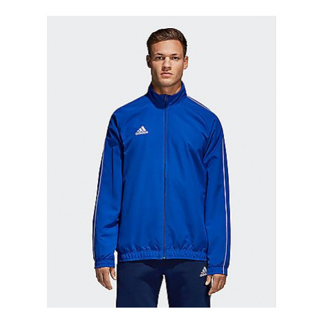 Adidas Core 18 Präsentationsjacke - Bold Blue / White - Herren, Bold Blue / White