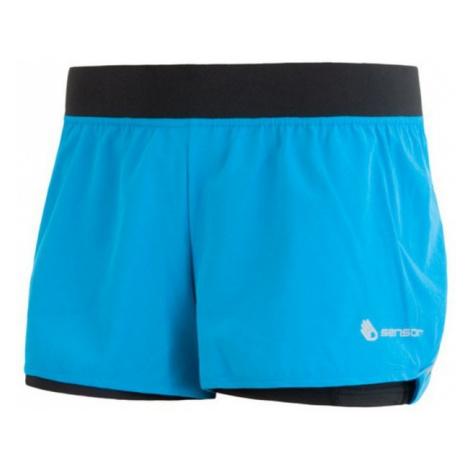 Damen Lauf Shorts Sensor TRAIL blau/schwarz 17100109