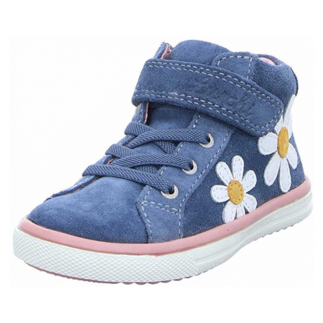 Unisex Lurchi Mädchen Sneaker blau Sibbi