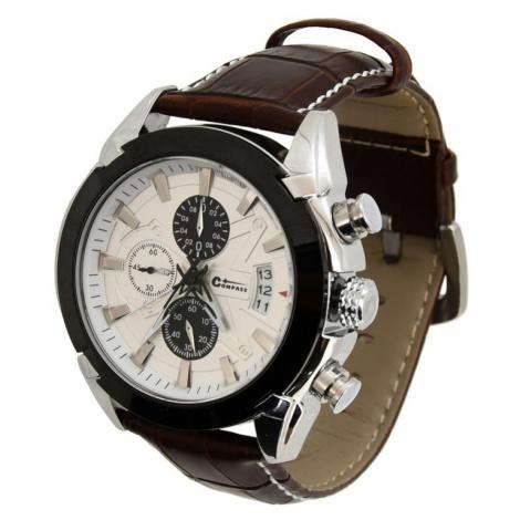 Uhren Cattara CHRONO WEISS Compass